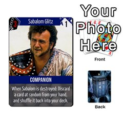 Ace Doctor Who V2 File  By Mark Chaplin   Playing Cards 54 Designs   Vnbces35f24j   Www Artscow Com Front - HeartA