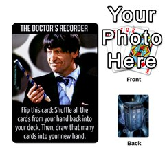 Jack Doctor Who V2 File  By Mark Chaplin   Playing Cards 54 Designs   Vnbces35f24j   Www Artscow Com Front - DiamondJ