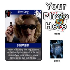 Doctor Who V2 File  By Mark Chaplin   Playing Cards 54 Designs   Vnbces35f24j   Www Artscow Com Front - Spade10