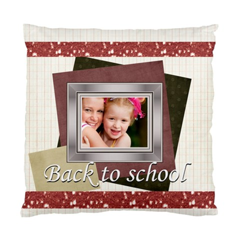 Back To School By Joely   Standard Cushion Case (one Side)   167vebkfpu9t   Www Artscow Com Front