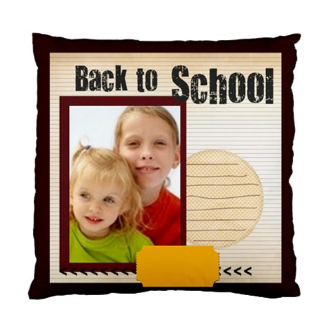 Back To School By Joely   Standard Cushion Case (one Side)   Ntzv8mcrlash   Www Artscow Com Front