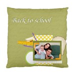 back to school - Cushion Case (One Side)
