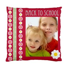 Back To School By Joely   Standard Cushion Case (two Sides)   Nho3yzbmvohe   Www Artscow Com Back