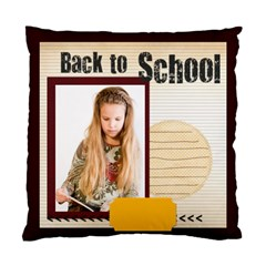 Back To School By Joely   Standard Cushion Case (two Sides)   H6vt306pmegs   Www Artscow Com Front