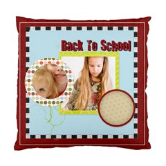 Back To School By Joely   Standard Cushion Case (two Sides)   U1ihsb4kzq7y   Www Artscow Com Front