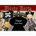 Pirate Party - 5  x 7  Photo Cards