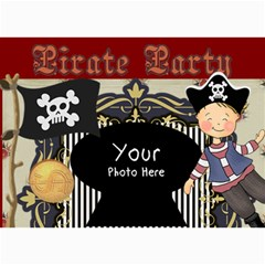 Pirate Party By Lillyskite   5  X 7  Photo Cards   6kwyfhmxazwk   Www Artscow Com 7 x5 Photo Card - 7