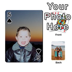 Squyres Cards By Bonnie Benham   Playing Cards 54 Designs   90pdt29uxcpk   Www Artscow Com Front - Spade5