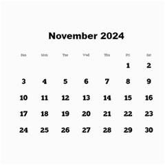 Framed In Silver 2017 Calendar (large Numbers) By Deborah   Wall Calendar 11  X 8 5  (12 Months)   G5ogo757qv8l   Www Artscow Com Nov 2017
