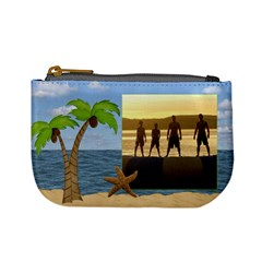 Tropical Mini Coin Purse By Lil    Mini Coin Purse   D46v14ju04zn   Www Artscow Com Front