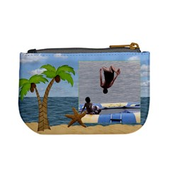 Tropical Mini Coin Purse By Lil    Mini Coin Purse   D46v14ju04zn   Www Artscow Com Back