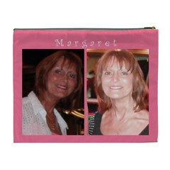 Cosmetic Bag, Margaret By Christine   Cosmetic Bag (xl)   Qn8a5eh4a47u   Www Artscow Com Back