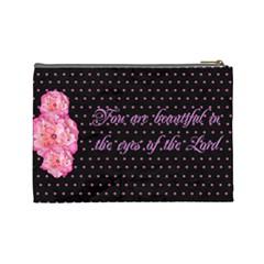 Chrisy By Christina Manship   Cosmetic Bag (large)   2318b7fzvugi   Www Artscow Com Back
