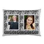 Classic Silver (2 sided) Pillow Case - Pillow Case (Two Sides)