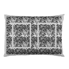 Classic Silver (2 Sided) Pillow Case By Deborah   Pillow Case (two Sides)   Sgr8jlylhik6   Www Artscow Com Back