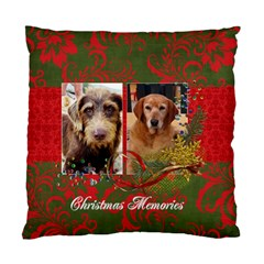 Christmas/star Cushion Case (2 Sides) By Mikki   Standard Cushion Case (two Sides)   Bb1kr4r37l5t   Www Artscow Com Front