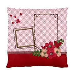 Cushion Case (two Sides)   Love Is In The Air By Jennyl   Standard Cushion Case (two Sides)   Pltzo215uqsj   Www Artscow Com Back