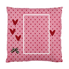 Pillow Case (two Sides)  Love Hearts By Jennyl   Standard Cushion Case (two Sides)   T9dwfavk39yl   Www Artscow Com Back