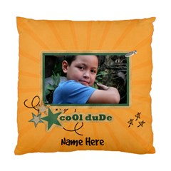 Pillow Case (two Sides)  Cool Dude By Jennyl   Standard Cushion Case (two Sides)   Xp4vo3jxhvme   Www Artscow Com Front