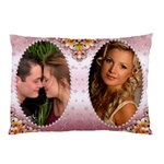 Pink Pearl Framed Pillow case (2 sided) - Pillow Case (Two Sides)