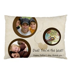 Dad  By Joely   Pillow Case (two Sides)   6pmms10pfrd0   Www Artscow Com Back
