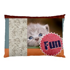 My Pet By Joely   Pillow Case (two Sides)   1h4ecpz1x41q   Www Artscow Com Front