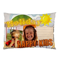 Happy Kids By Joely   Pillow Case (two Sides)   Uabgc3xlvavk   Www Artscow Com Front