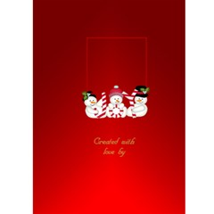 Joy Christmas Card 5x7 By Deborah   Greeting Card 5  X 7    He0aqn12ttr1   Www Artscow Com Back Cover