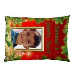 My Santa Sack Pillow Case By Deborah   Pillow Case (two Sides)   61njgsbw1fpz   Www Artscow Com Front
