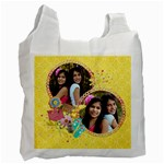 Summer Fun/beach bag -recycle bag (2 sides) - Recycle Bag (Two Side)