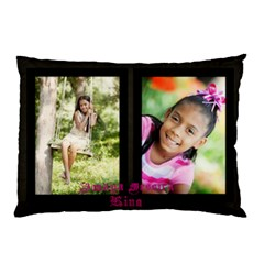 My Angel Amaya By Krystal M    Pillow Case (two Sides)   W8jgsw8q2wkd   Www Artscow Com Front
