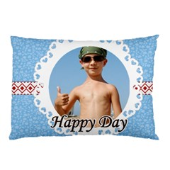 Happy Day By Joely   Pillow Case (two Sides)   Xmor555cau9p   Www Artscow Com Front
