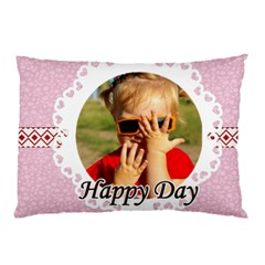Happy Day By Joely   Pillow Case (two Sides)   Xmor555cau9p   Www Artscow Com Back