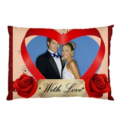 With Love By Joely   Pillow Case (two Sides)   Oc9k0s4du33q   Www Artscow Com Back