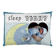 Sleep Tight Boy 2 Sided Pillow Case By Lil    Pillow Case (two Sides)   Lhgmwe76ntg7   Www Artscow Com Front