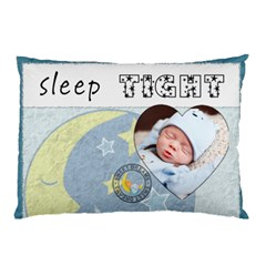 Sleep Tight Boy 2 Sided Pillow Case By Lil    Pillow Case (two Sides)   Lhgmwe76ntg7   Www Artscow Com Back