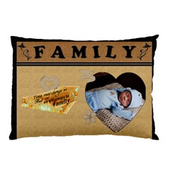 Family 2 Sided Pillow Case By Lil    Pillow Case (two Sides)   Vo3n21ge1m9q   Www Artscow Com Front