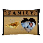 Family 2-Sided Pillow Case - Pillow Case (Two Sides)