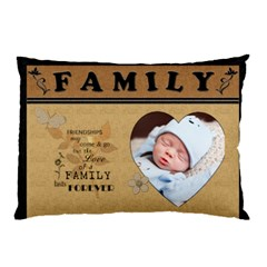 Family 2 Sided Pillow Case By Lil    Pillow Case (two Sides)   Vo3n21ge1m9q   Www Artscow Com Back