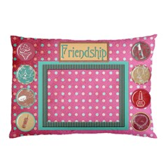Bff Pillowcase Template By Heather    Pillow Case (two Sides)   O564vwtlv3tx   Www Artscow Com Front