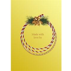 Lemon New Year 5x7 Card By Deborah   Greeting Card 5  X 7    Wehvhdeqmw6z   Www Artscow Com Back Cover