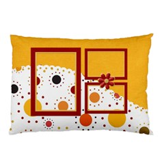 Tangerine Breeze Double Sided Pillow Case  1 By Lisa Minor   Pillow Case (two Sides)   0ecsyzxzc3p2   Www Artscow Com Front