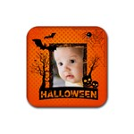 halloween - Rubber Coaster (Square)