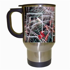 Fireworks Travel Mug By Kim Blair   Travel Mug (white)   3dc0qiblrkax   Www Artscow Com Left