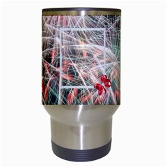 Fireworks Travel Mug By Kim Blair   Travel Mug (white)   3dc0qiblrkax   Www Artscow Com Center