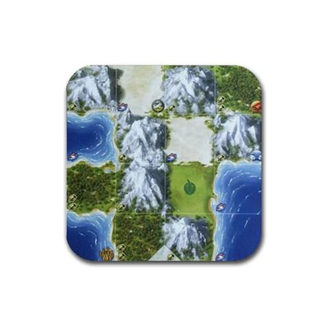 Civ By Mauricio Torselli   Rubber Coaster (square)   Vb3e1g7t37o1   Www Artscow Com Front