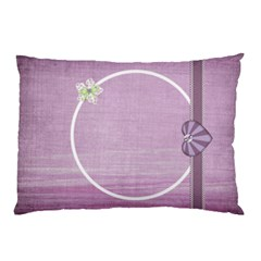 Lavender Essentials 2 Sided Pillow Case 1 By Lisa Minor   Pillow Case (two Sides)   6418cn2fwcsh   Www Artscow Com Back
