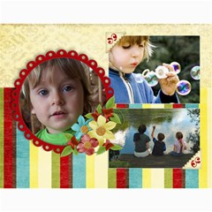 Memories/family  12 Month 2015 Calendar By Mikki   Wall Calendar 11  X 8 5  (12 Months)   F3dld618w50w   Www Artscow Com Month