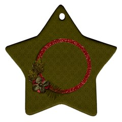 Ornament (two Sides): Star2 By Jennyl   Star Ornament (two Sides)   Hjr2a7s9hcwo   Www Artscow Com Back