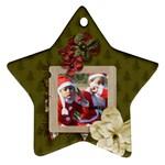 Ornament (Two Sides): Star3 - Star Ornament (Two Sides)